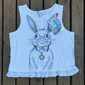 NWT Disney | Alice In Wonderland Girls Tank Top